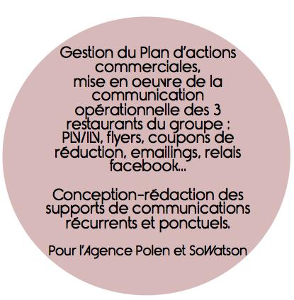 Plan d'actions commerciales, PLV ILV, gestion de projet communication, suivi de fabrication, impression